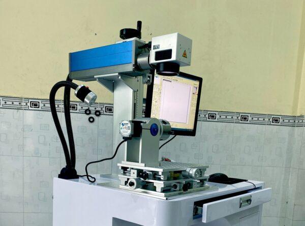 Máy khắc laser fiber 50w Raycus