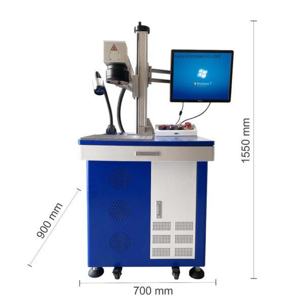 KÍch thước máy khắc laser fiber