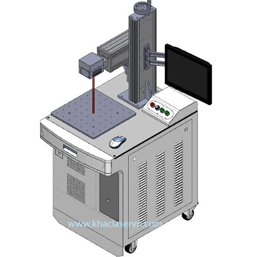 máy khắc laser kim loại là gì
