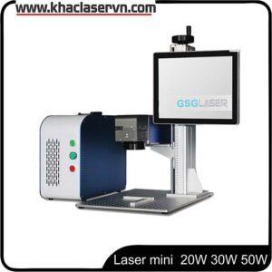 máy khắc laser fiber kim loại mini