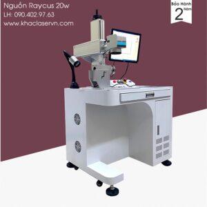 Máy khắc laser kim loại Raycus