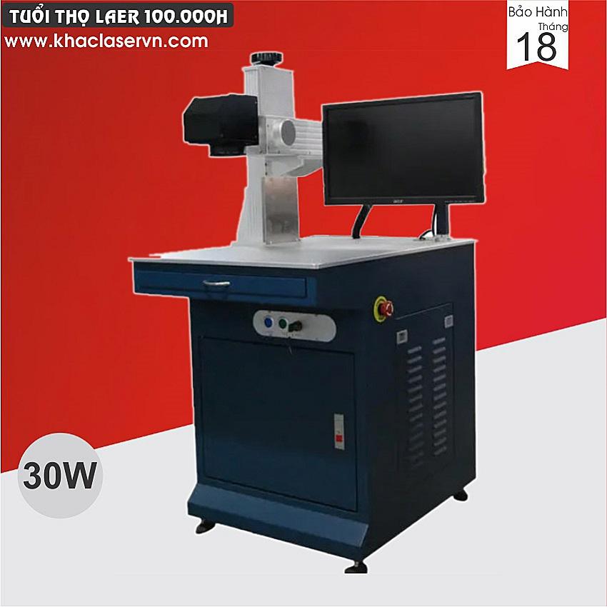 Máy khắc laser fiber Raycus 30w