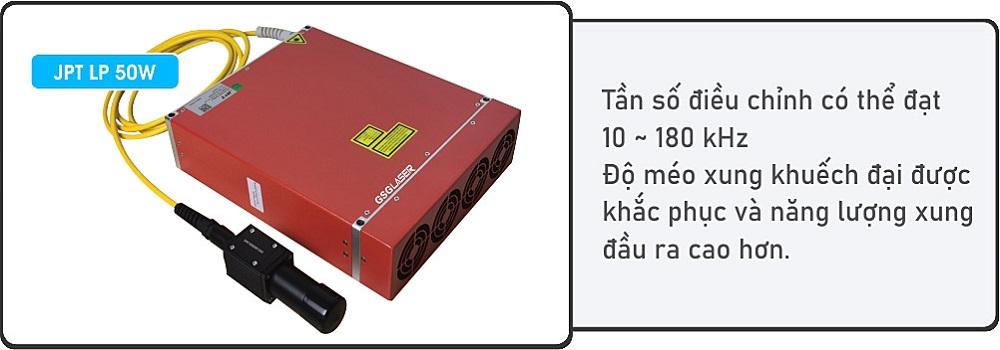 Nguồn laser fiber 50W JPT