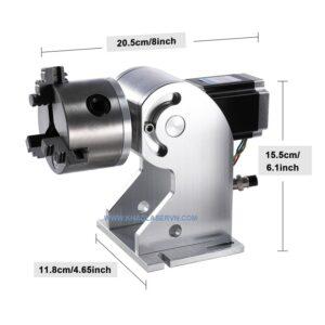 Trục xoay máy khắc laser D80