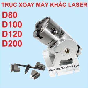 Trục xoay mâm cặp máy khắc laser