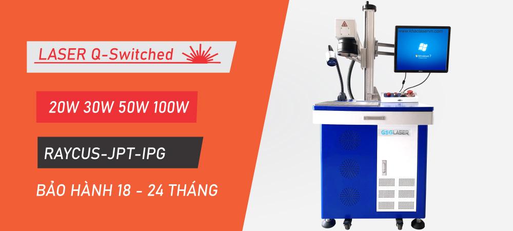 Máy khắc laser kim loại 20w 30w 50w 100w